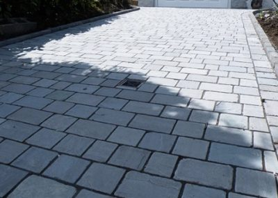 Block paving and Flagging