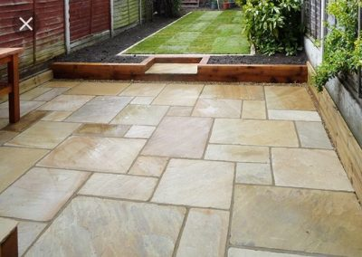 Huyton Patio laying
