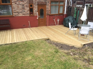 Huyton Fencing Decking