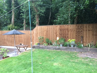 Huyton Garden fencing
