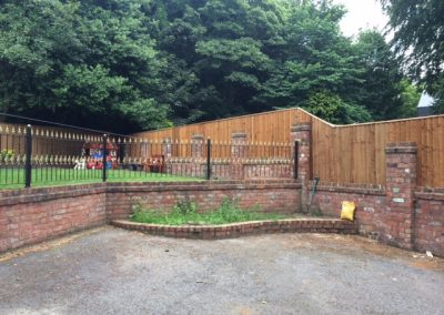 Huyton Fencing Metal Fence