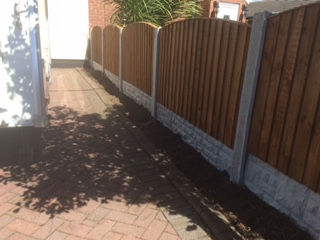 Front Garden Small Height Fencing